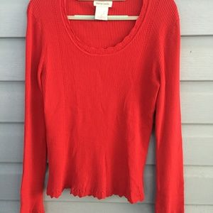 Pierre Cardin Red sweater